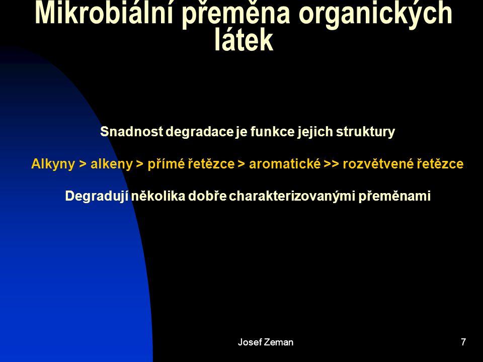 Mikrobiální přeměna organických látek