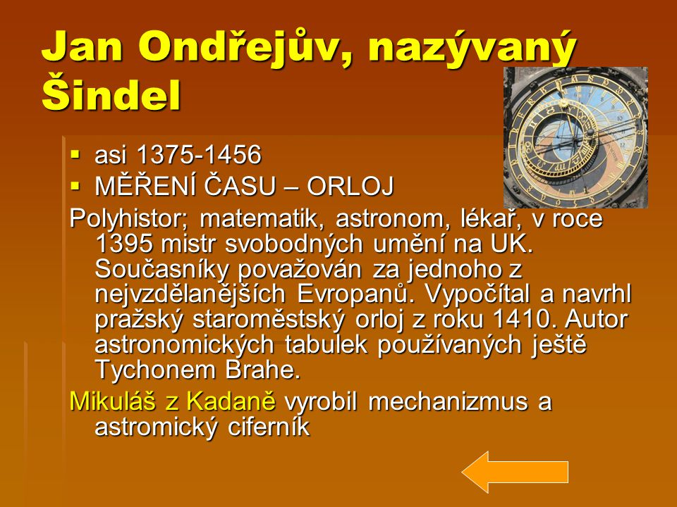 Jan Ondřejův, nazývaný Šindel