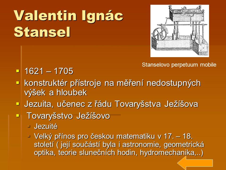 Valentin Ignác Stansel