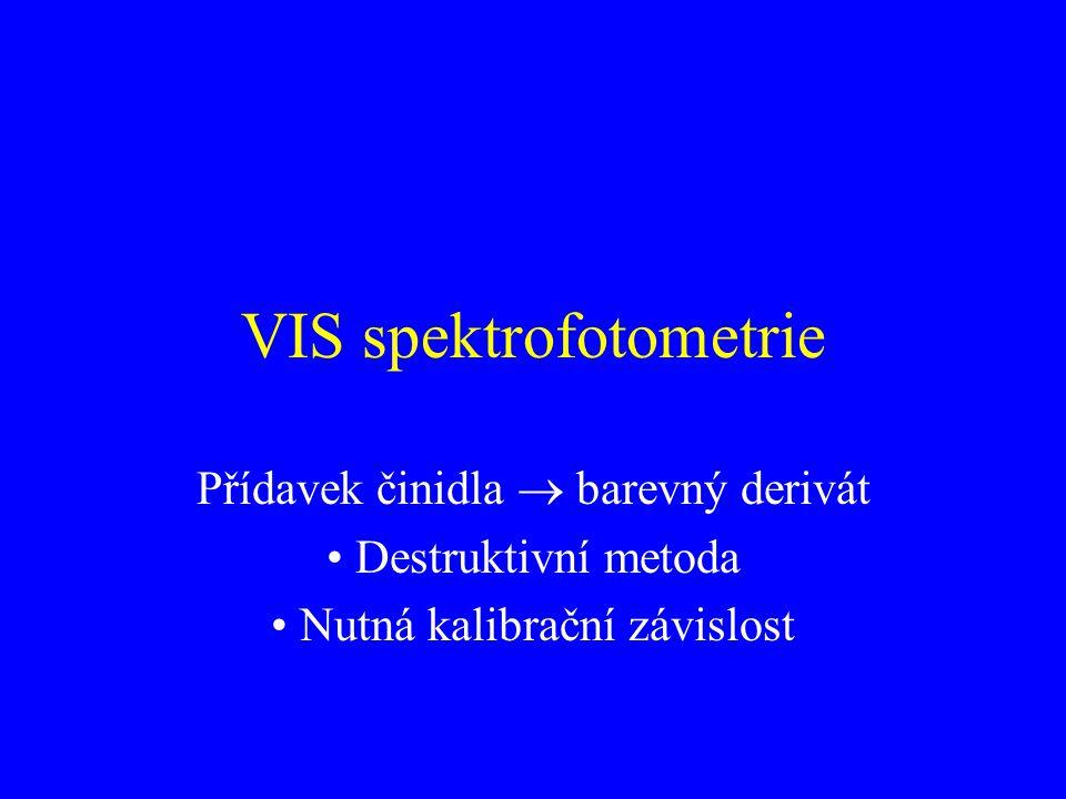 VIS spektrofotometrie