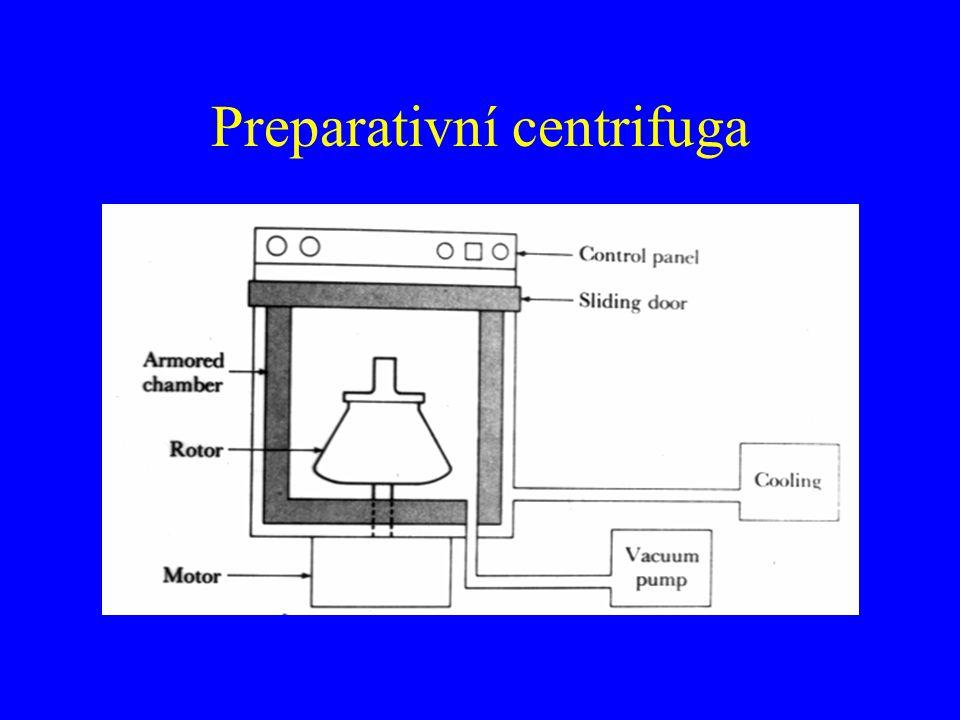 Preparativní centrifuga