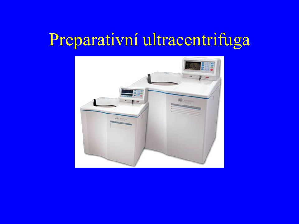 Preparativní ultracentrifuga
