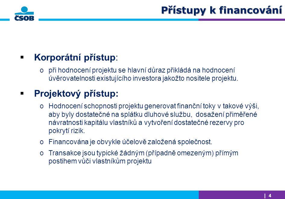 Přístupy k financování
