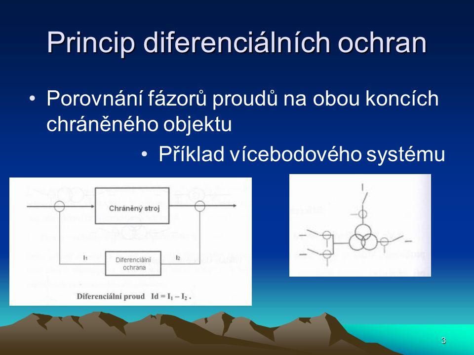 Princip diferenciálních ochran