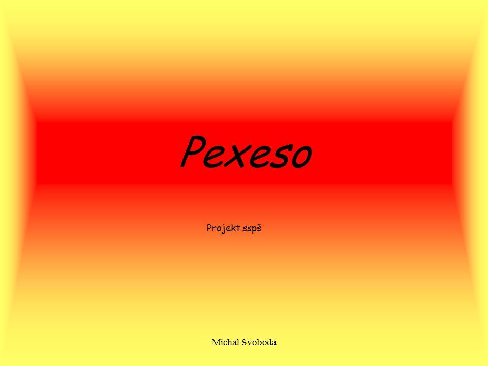 Pexeso Projekt sspš Michal Svoboda