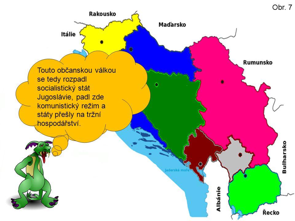 Slovinsko a Chorvatsko. Nezávislost vyhlásili pak následující státy: