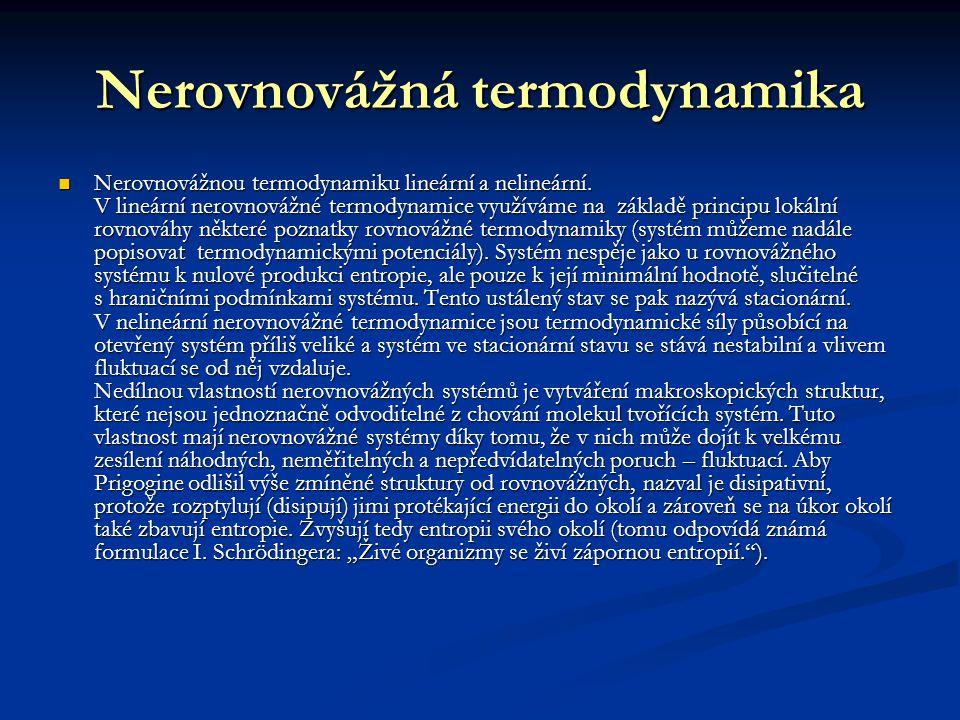 Nerovnovážná termodynamika