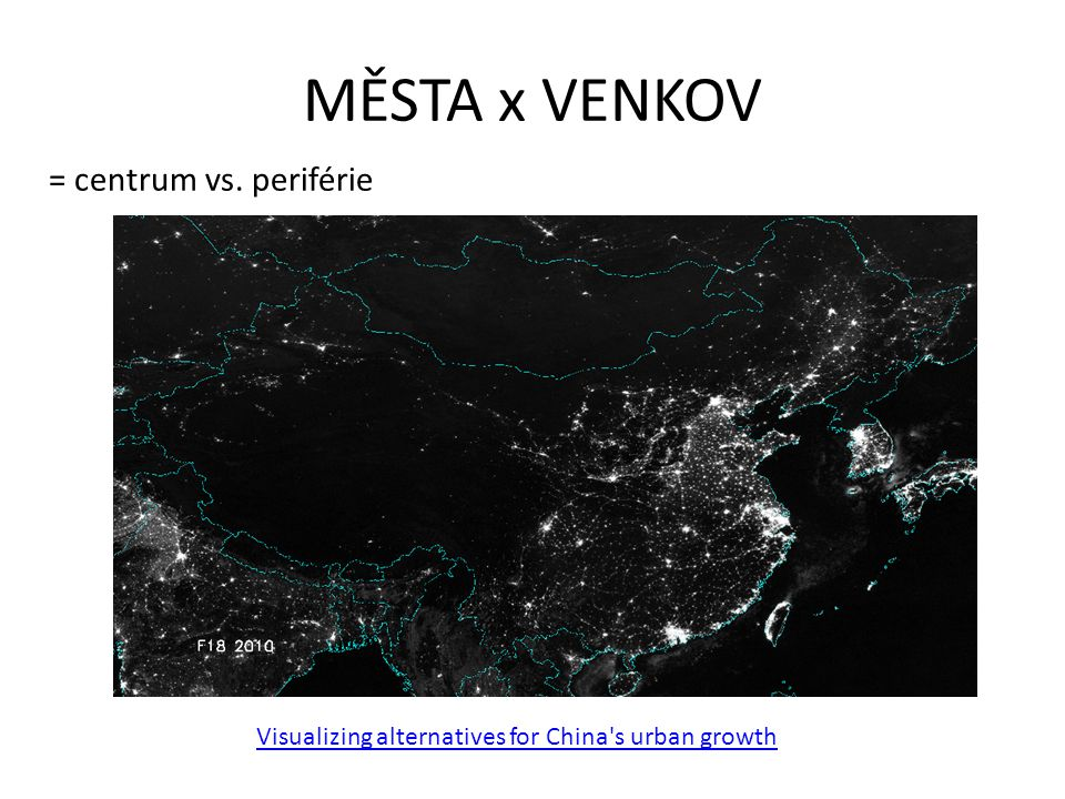 Visualizing alternatives for China s urban growth