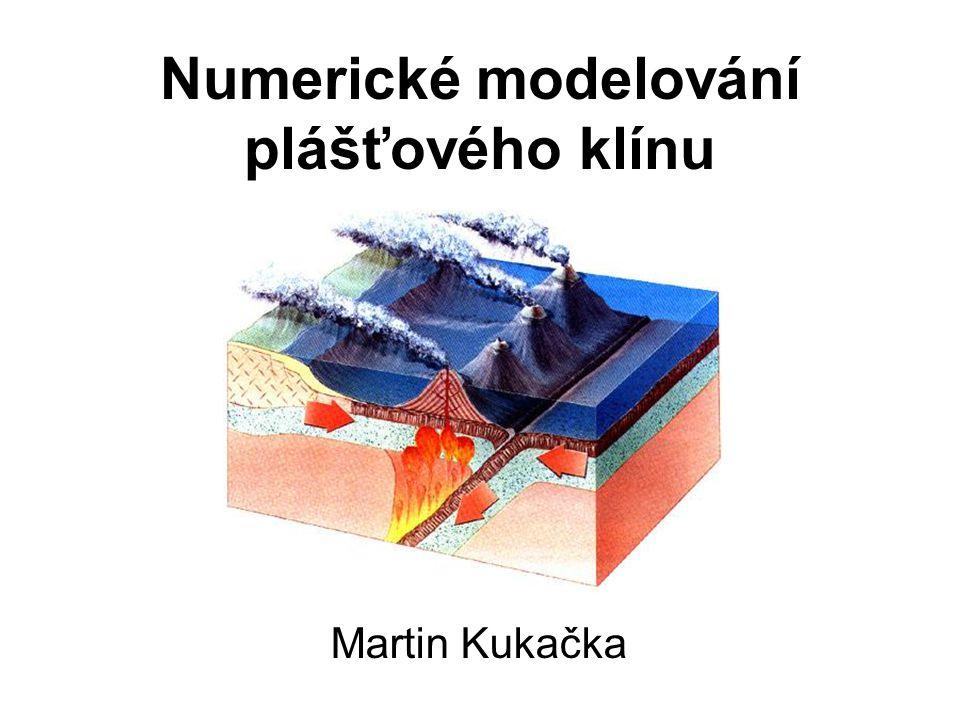 Numerické modelování plášťového klínu