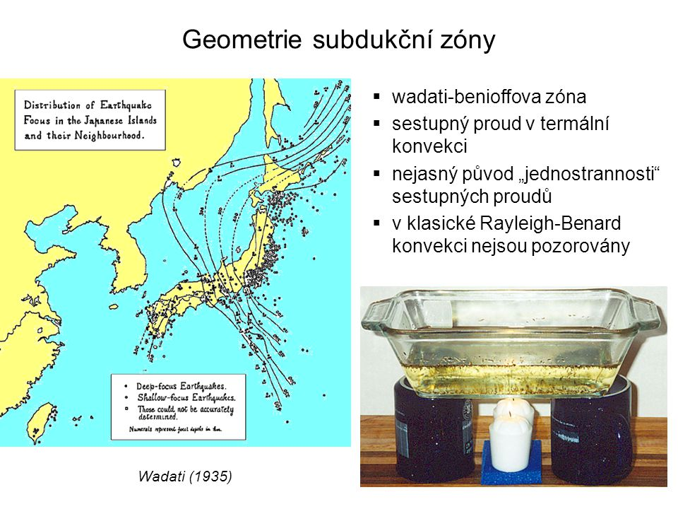 Geometrie subdukční zóny