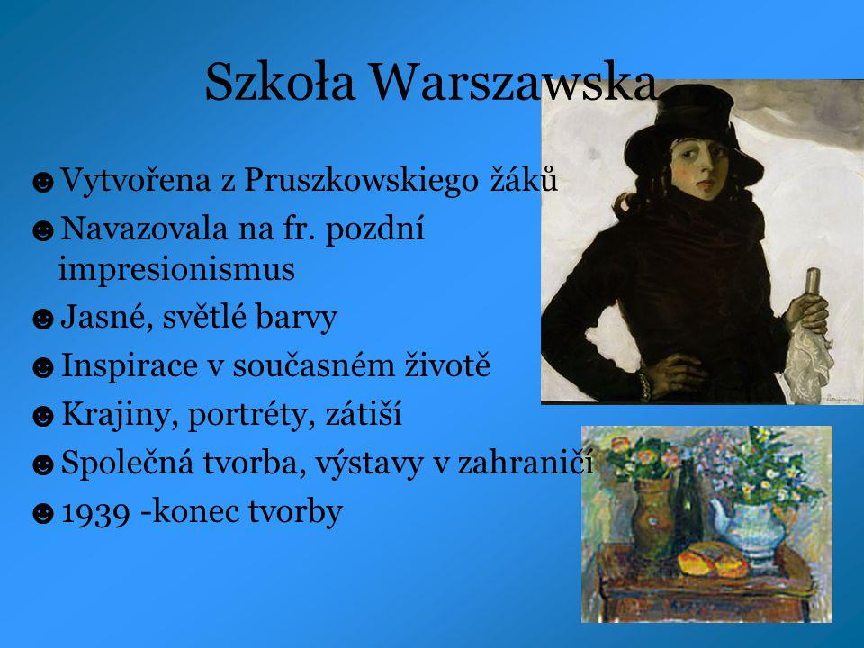 Szkoła Warszawska Vytvořena z Pruszkowskiego žáků