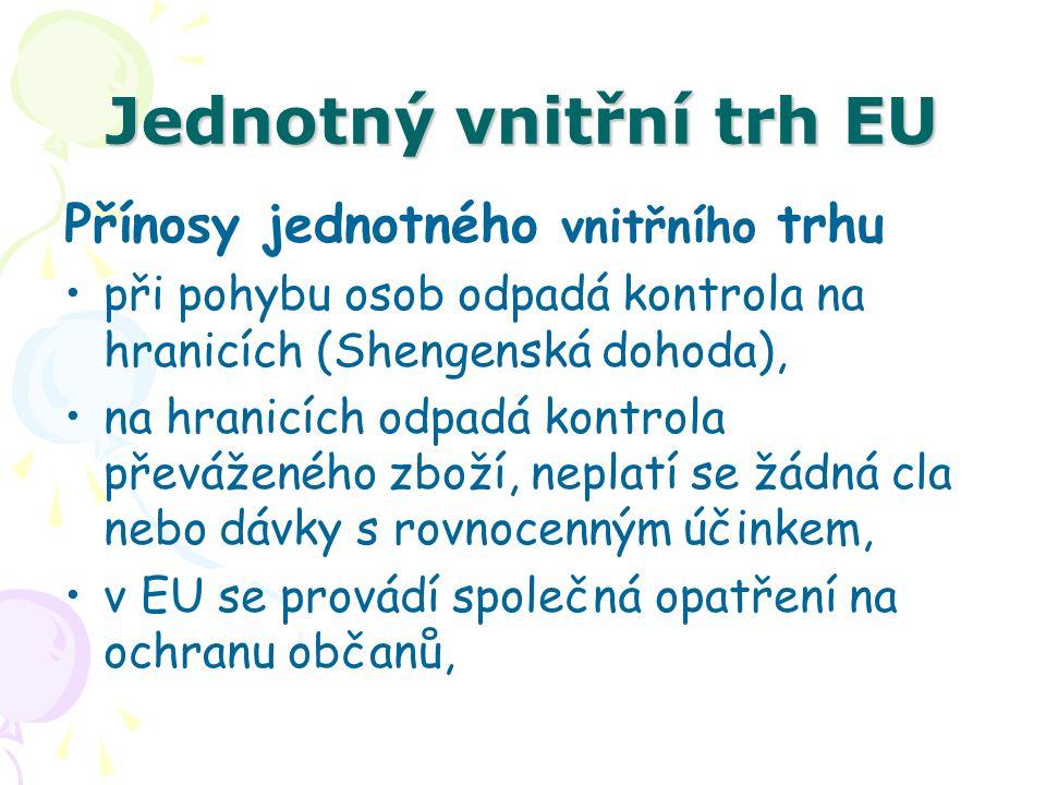 Jednotný vnitřní trh EU