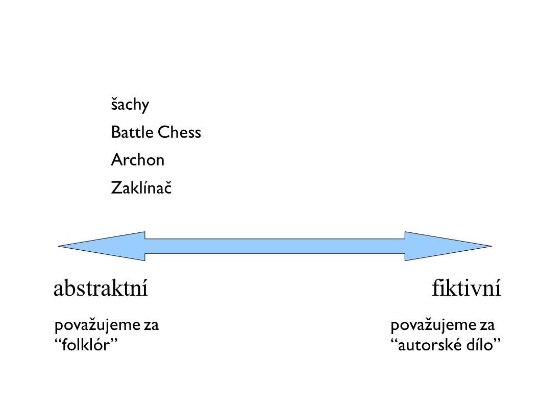 abstraktní fiktivní šachy Battle Chess Archon Zaklínač považujeme za