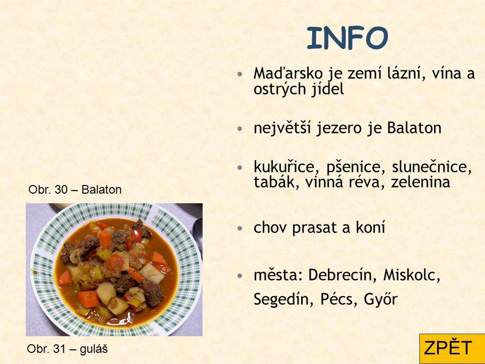 INFO ZPĚT Maďarsko je zemí lázní, vína a ostrých jídel