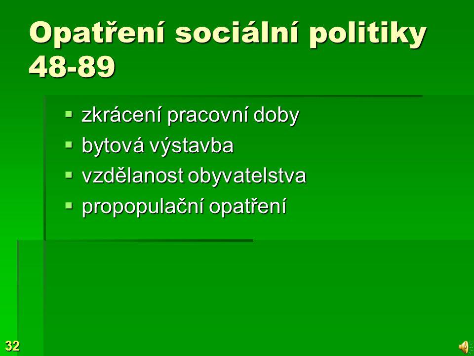 Opatření sociální politiky 48-89