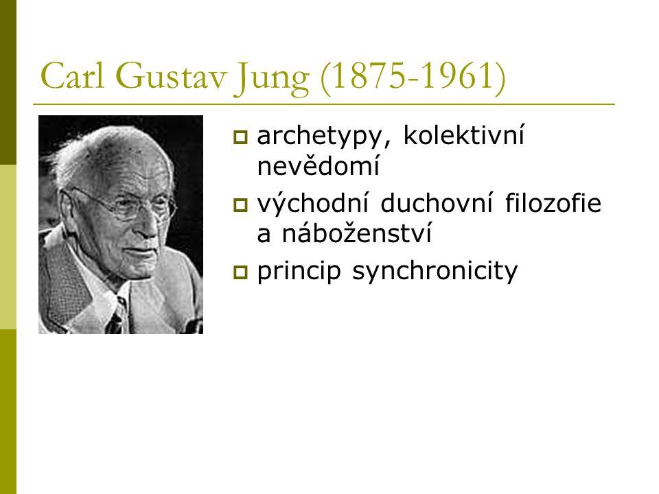 Carl Gustav Jung (1875-1961) archetypy, kolektivní nevědomí