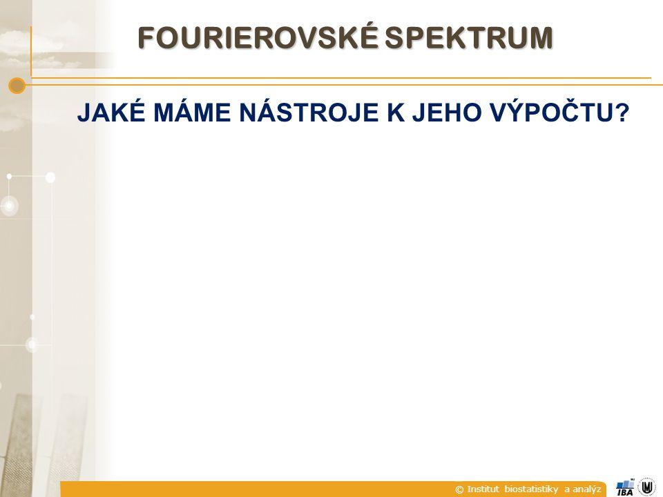 Fourierovské spektrum