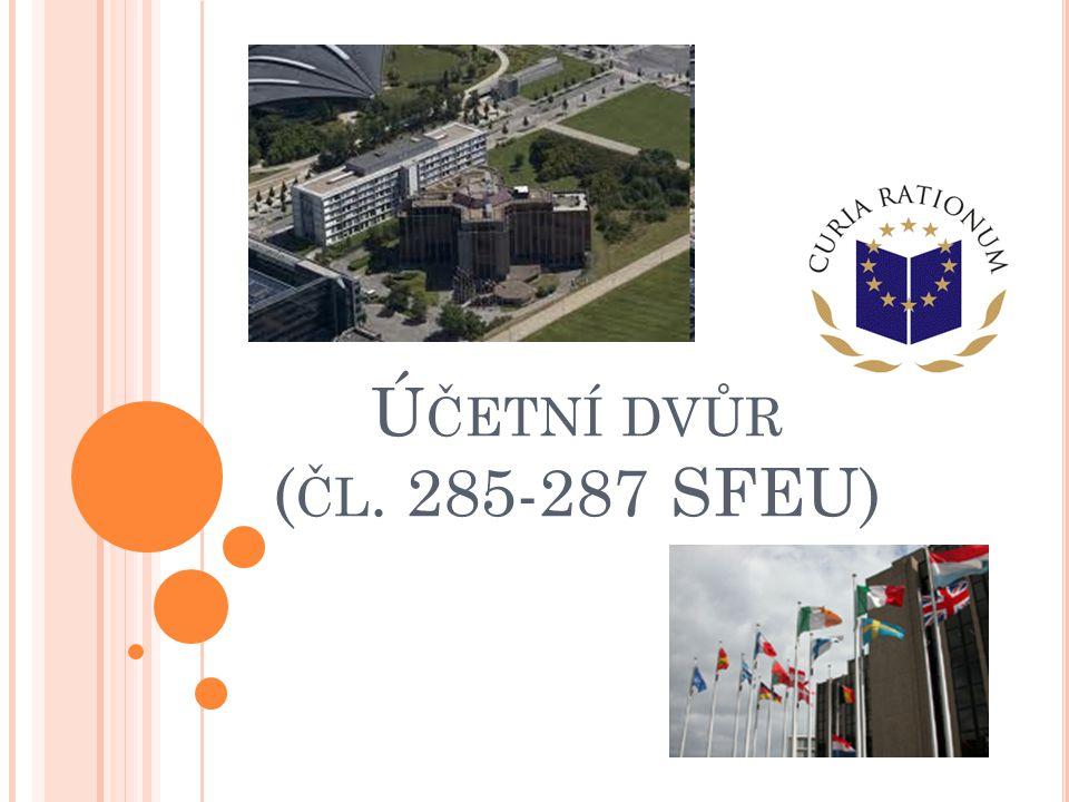 Účetní dvůr (čl. 285-287 SFEU)