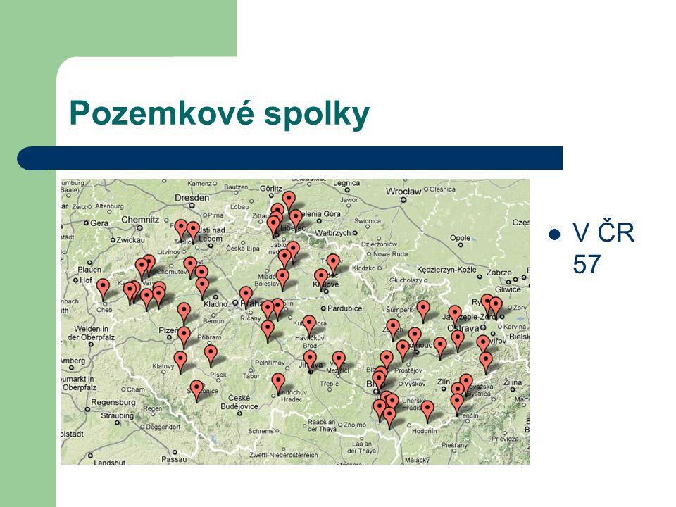 Pozemkové spolky V ČR 57