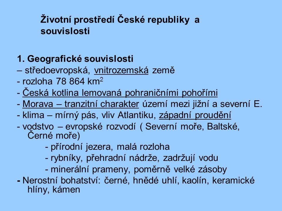 Životní prostředí České republiky a souvislosti