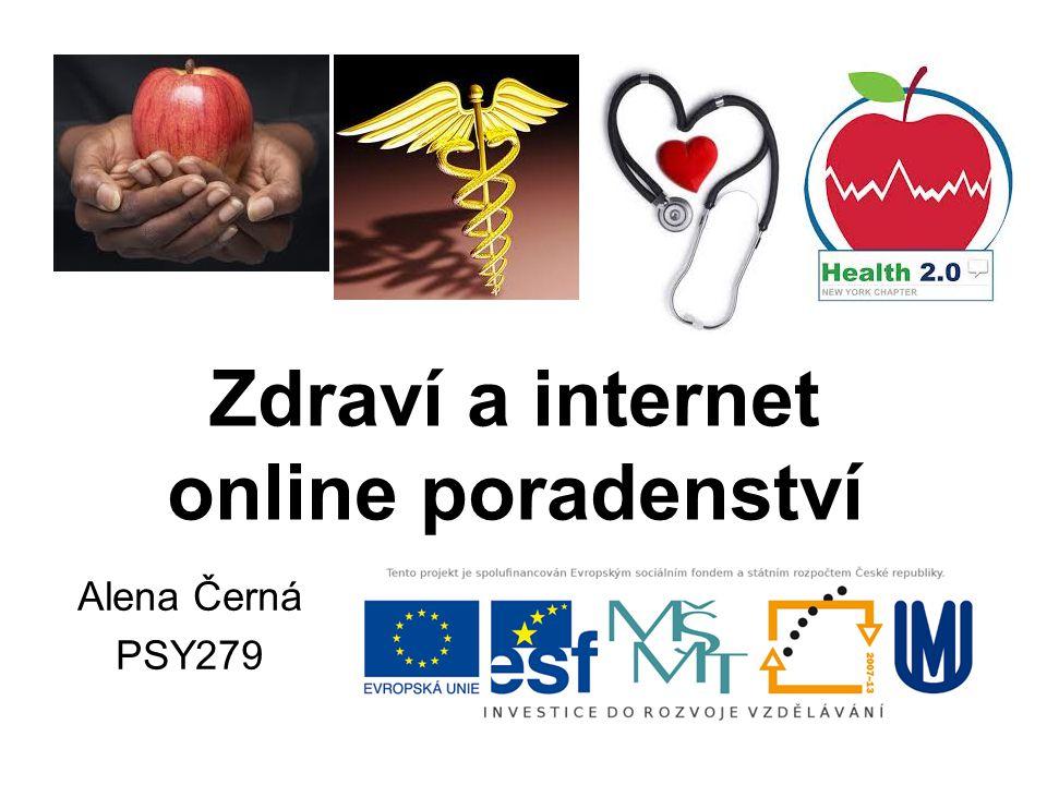 Zdraví a internet online poradenství