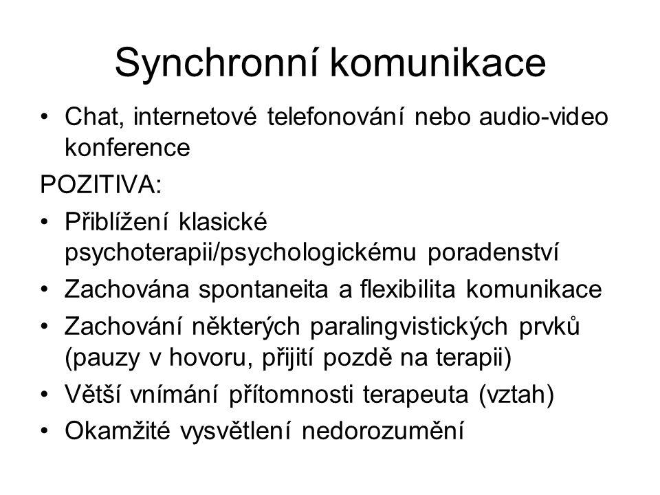 Synchronní komunikace