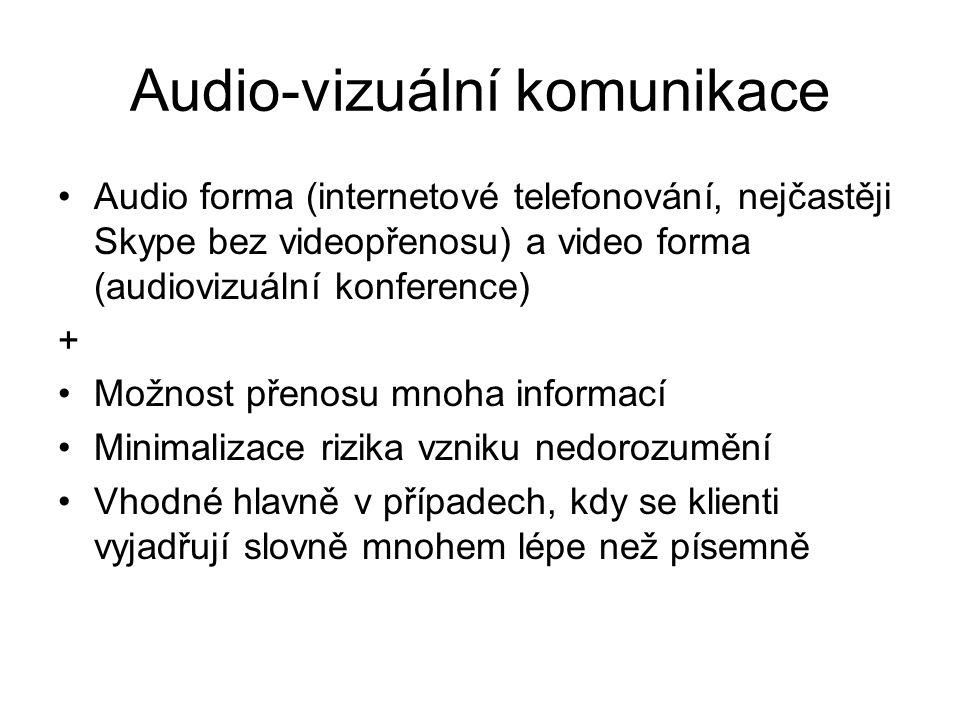 Audio-vizuální komunikace