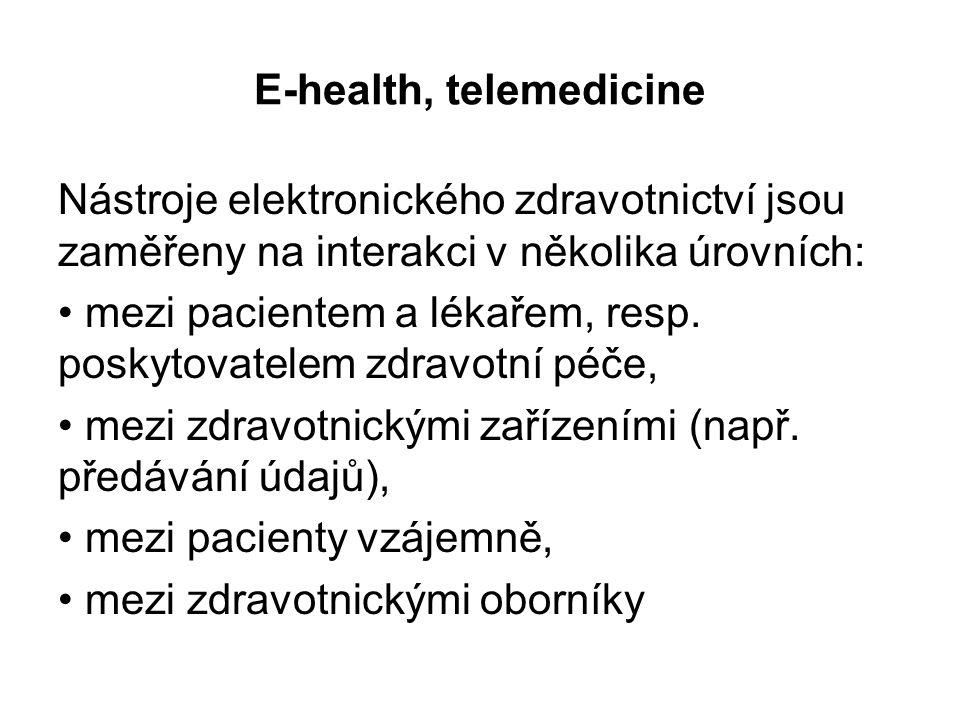 E-health, telemedicine
