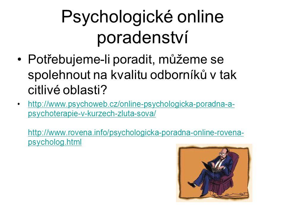 Psychologické online poradenství