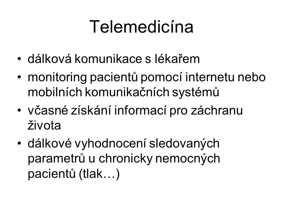 Telemedicína dálková komunikace s lékařem