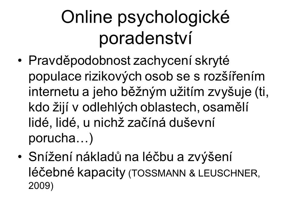 Online psychologické poradenství