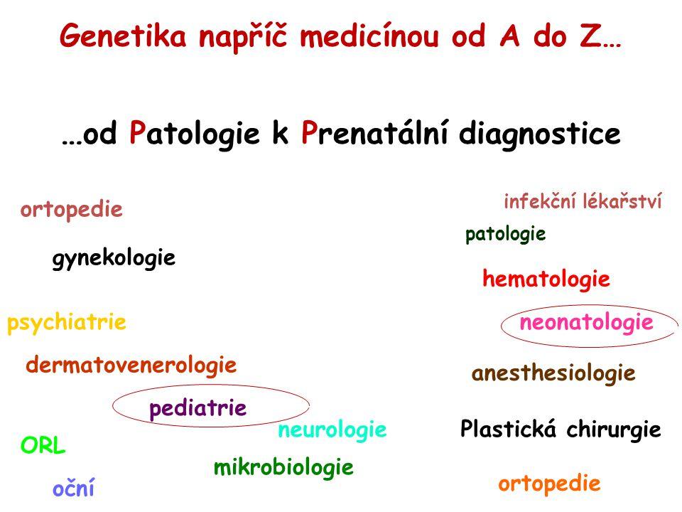 …od Patologie k Prenatální diagnostice