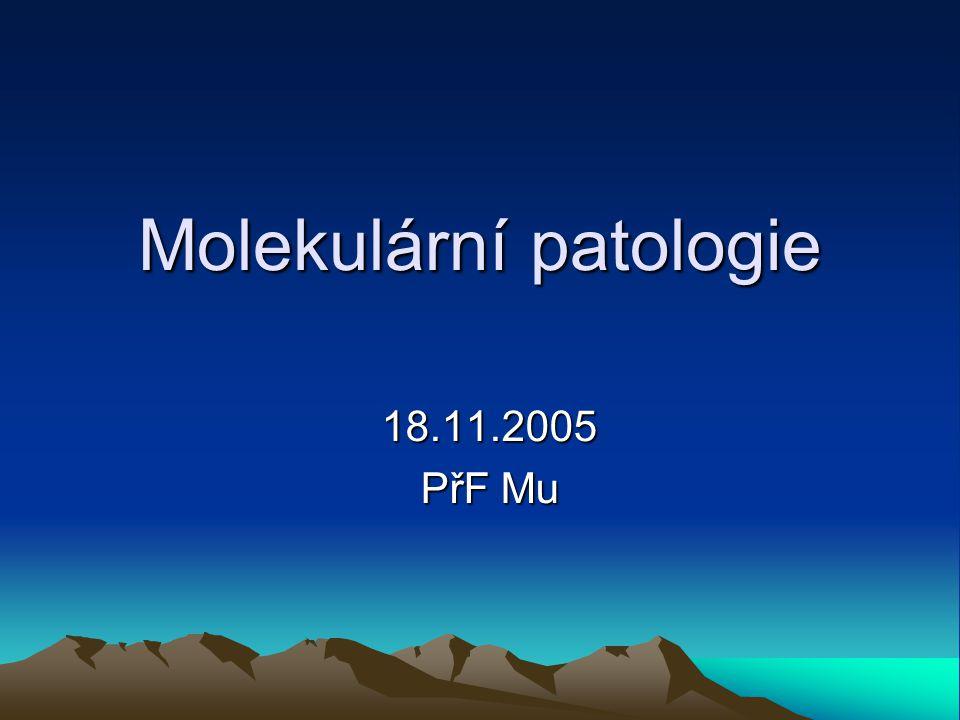 Molekulární patologie