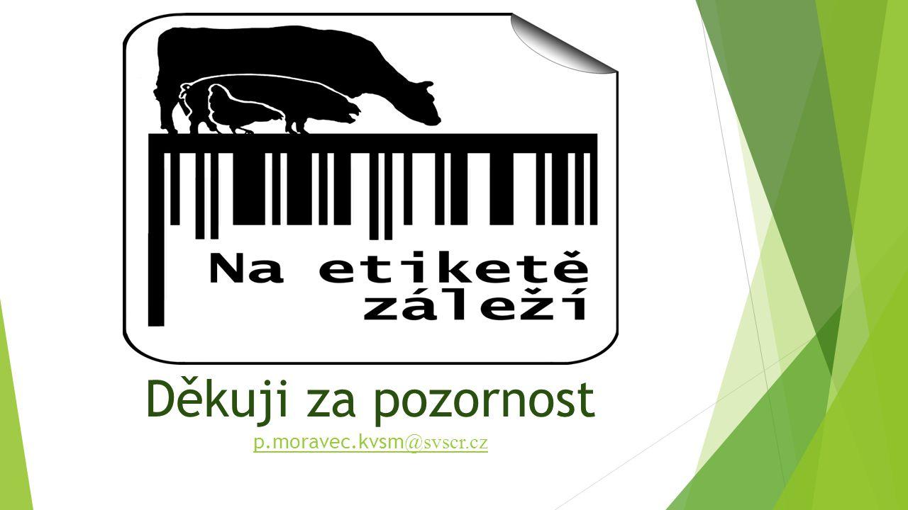 Děkuji za pozornost p.moravec.kvsm@svscr.cz