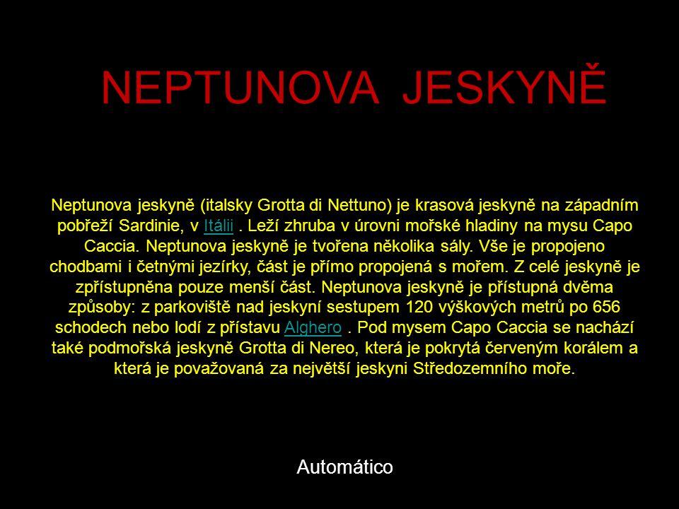 NEPTUNOVA JESKYNĚ Automático