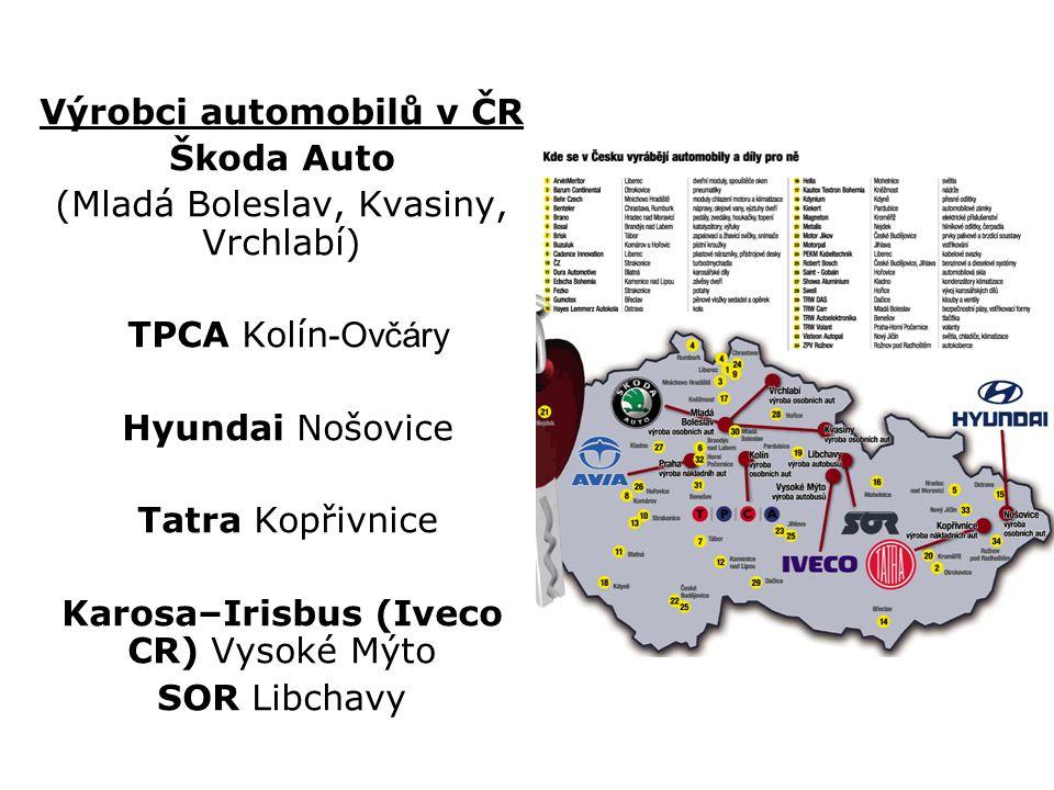 Výrobci automobilů v ČR