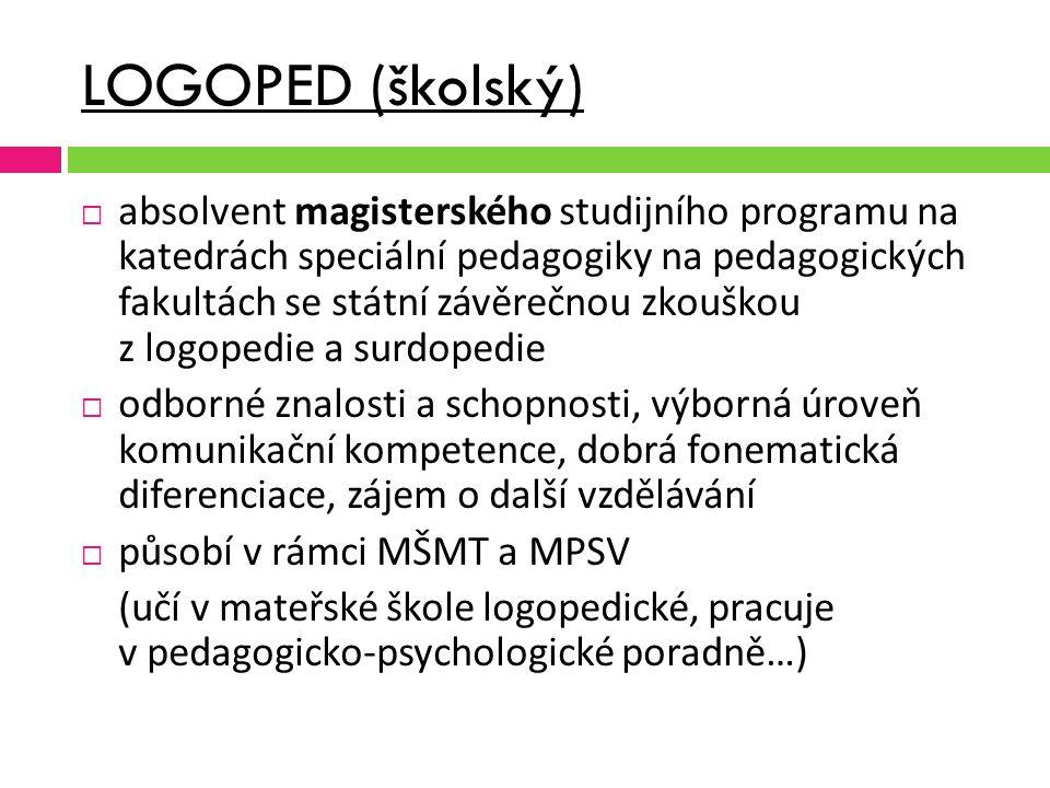 LOGOPED (školský)