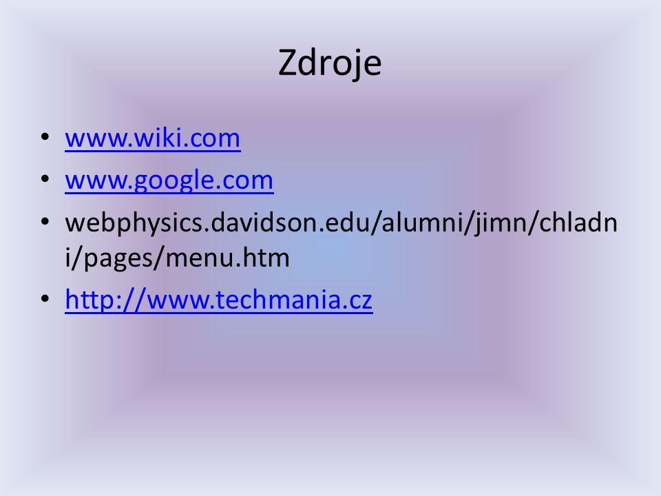 Zdroje www.wiki.com www.google.com