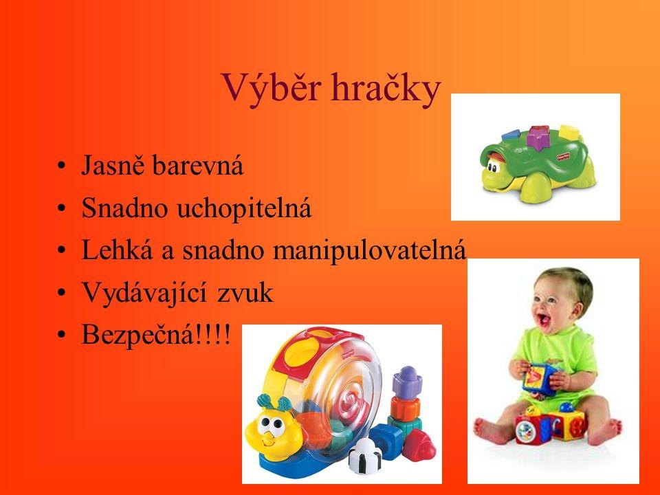 Výběr hračky Jasně barevná Snadno uchopitelná