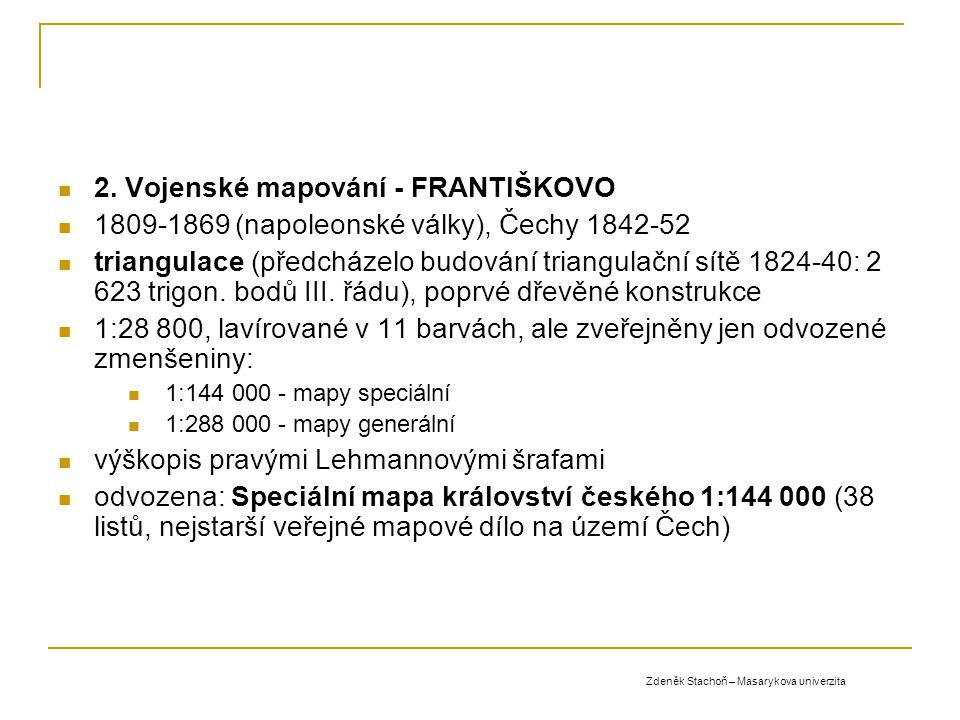 2. Vojenské mapování - FRANTIŠKOVO