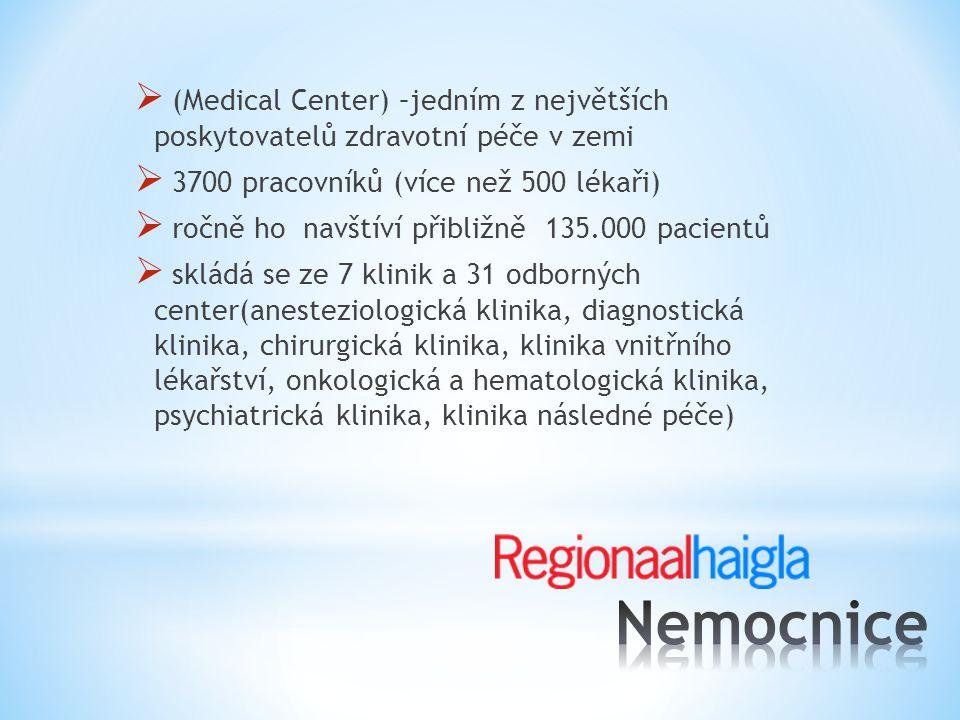 (Medical Center) –jedním z největších poskytovatelů zdravotní péče v zemi