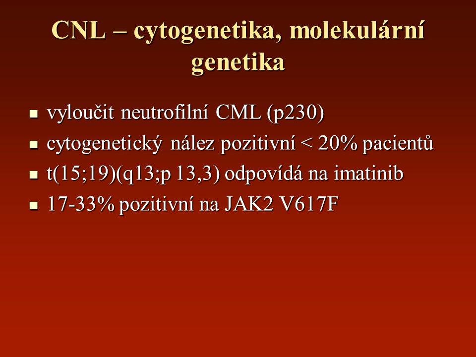 CNL – cytogenetika, molekulární genetika