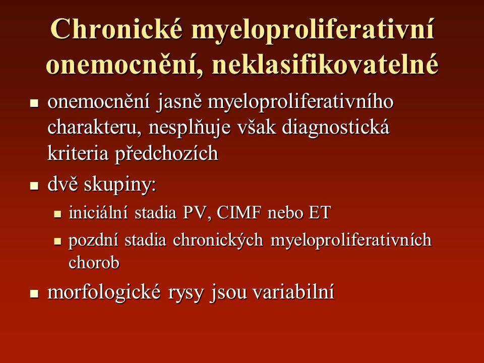 Chronické myeloproliferativní onemocnění, neklasifikovatelné