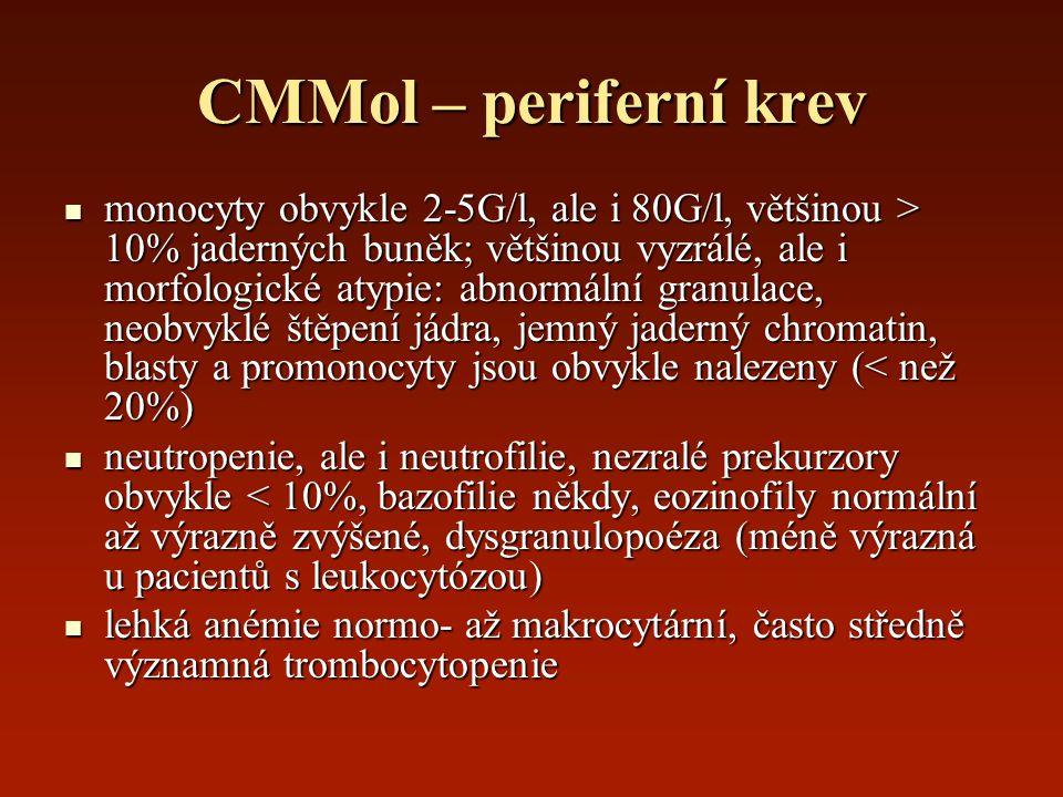 CMMol – periferní krev