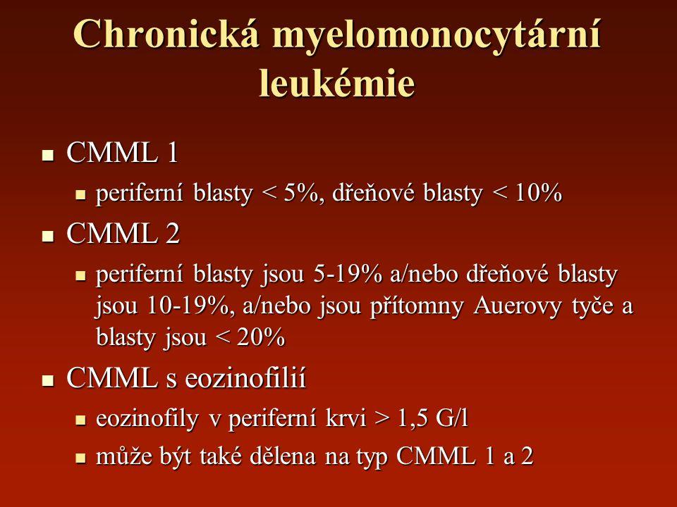 Chronická myelomonocytární leukémie