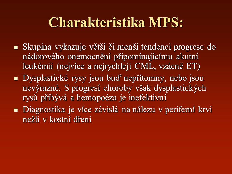 Charakteristika MPS: