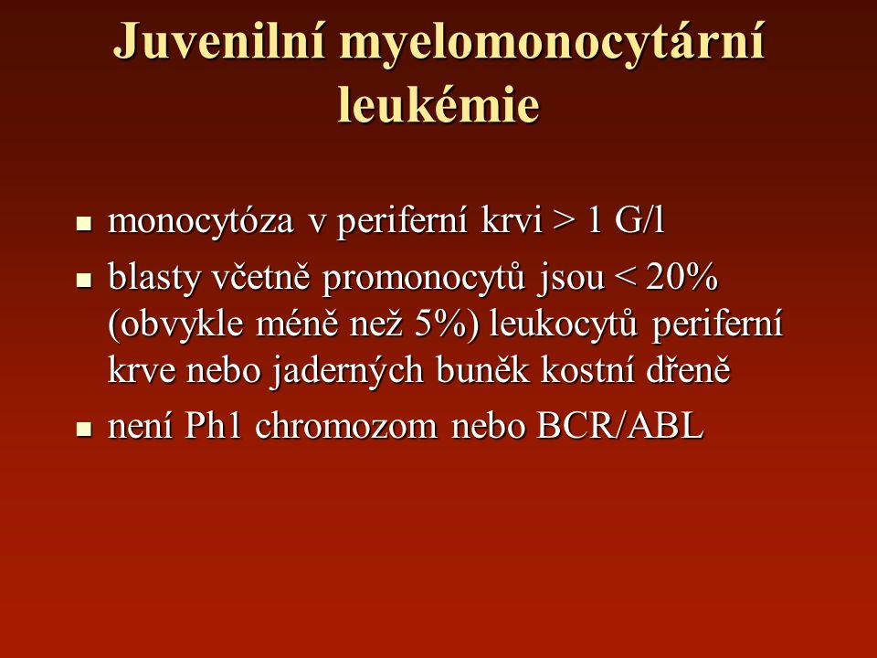 Juvenilní myelomonocytární leukémie