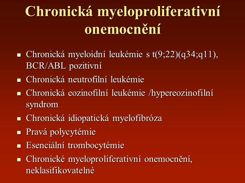 Chronická myeloproliferativní onemocnění