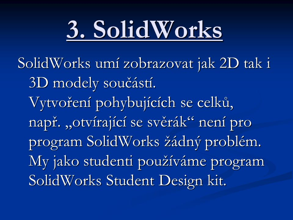3. SolidWorks