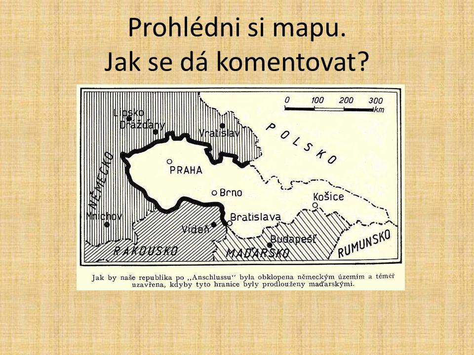 Prohlédni si mapu. Jak se dá komentovat